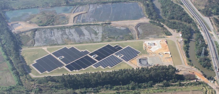 Usina Solar Cidade Azul